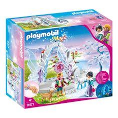 Playmobil Krištáľová brána do zimného sveta , Krištáľový palác, 73 dielikov