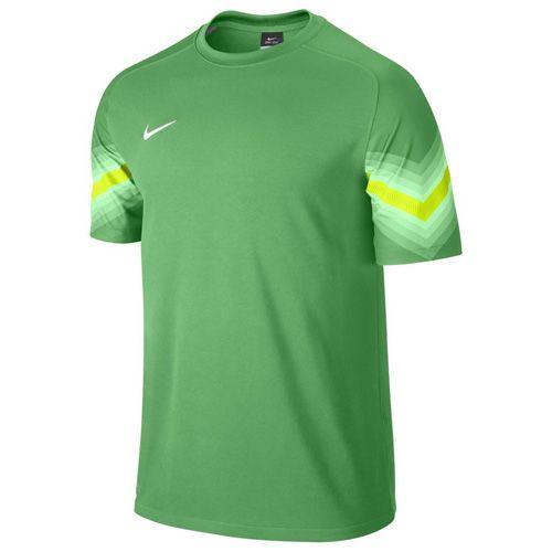 Nike plastová, čierna, 10 | FOOTBALL / SOCCER | MENS | SHORT SLEEVE TOP | HYPER VERDE / VOLT / WHITE | L