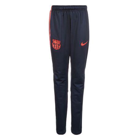 Nike FCB Y NK DRY SQD PANT K, 10 | PIŁKA NOŻNA / PIŁKA NOŻNA | MŁODZIEŻ UNISEX PANT | OBSIDIAN / HYPER CRIMSON / HYPER C | Z