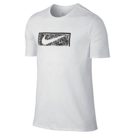 Nike SWOOSH GOAL TEE, 10. | FABOTBALL / FOCCER | MENS | Rövid ujjú póló | FEHÉR / FEHÉR | L