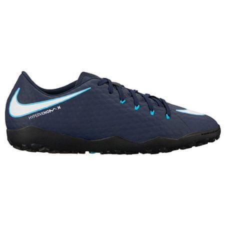 Nike HYPERVENOMX PHELON III TF, 20 | PIŁKA NOŻNA / PIŁKA NOŻNA | MĘŻCZYZNA | LOW TOP | OBSIDIAN / WHITE-GAMMA BLUE-GLAC | 9