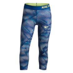Nike G NP HPRCL CPRI AOP1, 10 | YOUNG Athletes | GIRLS | 3/4 LENGTH TIGHT | BLUE TINT / BLUE JAY / BLUE JAY / BA | M