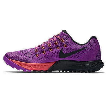 Nike W AIR ZOOM TERRA KIGER 3, 20 | URUCHOMIENIE | KOBIETY | LOW TOP | HYPR VLT / BLK-TTL CRMSN-LSR ORN | 7.5