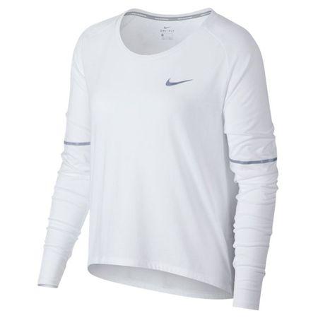 Nike W NK BRTHE TOP LS, 10 | RUNNING | ŽENSKE | DOLG SLEEVE TOP | BELA | L