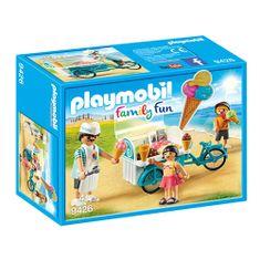 Playmobil zmrzlinársky vozík Playmobil, Prázdniny, 25 dielikov