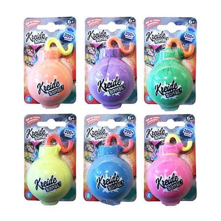Xtrem Toys & Sports Kreid-Bombe, 6 színű XTREM játékok és sport, Kreid-Bombe, 6 szín