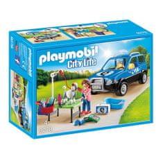 Playmobil Mobilny salon dla psów , Życie w mieście, 72 sztuki