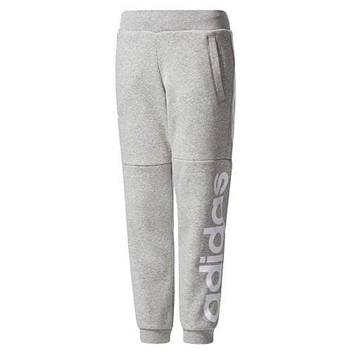 Adidas LK LIN SWEAT PA MGREYH/WHITE - 104
