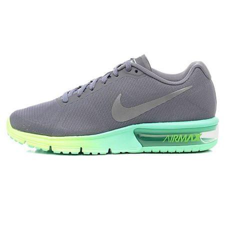 Nike WMNS AIR MAX SEQUENT, 20   RUNNING   ŽENSKE   NIZKA VRH   CL GRY / MTLLC SLVR-GRN GLW-GHST   8