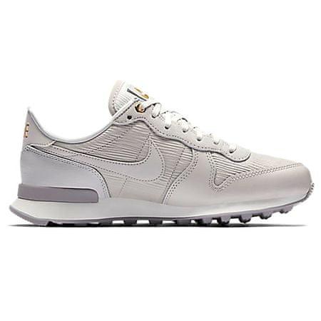 Nike W INTERNATIONALIST PRM, 20 | BIEGANIE NSW | KOBIETY | LOW TOP | VAST GREY / VAST GREY-SUMMIT WHI | 8.5