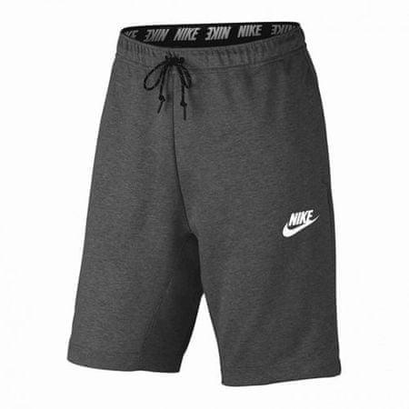 Nike M NSW AV15 FLC RÖVID, 10.   NSW EGYÉB SPORT   MENS   RÖVID   FÉNHETELEN / FEKETE / FEHÉR   XL