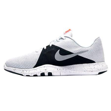 Nike W FLEX TRENER 8, 20 | TRENING ŽENSK | ŽENSKE | NIZKA VRH | BELA / KOVINSKA SREBRNO-ČRNA | 8.5