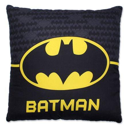 "SETINO Fantovski vzglavnik ""Batman"" - 40x40cm - modra"