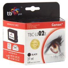 TB print Tinta. TB patron, kompatibilis a Canon BC-02 Black készülékkel, Tinta. TB patron, kompatibilis a Canon BC-02 Black készülékkel