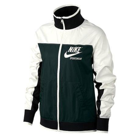 Nike W ARCHIWUM NSW JKT FZ 1, 10 | INNE SPORTY NSW | KOBIETY | KURTKA | ŻAGIEL / ZEWNĘTRZNY ZIELONY / CZARNY / ŻAGIEL | M.