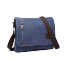 KONO Kvalitní taška přes rameno E1824 - modrá