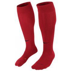 Nike CLASSIC II SOCK, 10 | FOOTBALL/SOCCER | ADULT UNISEX | 3/4 LENGTH SOCK | UNIVERSITY RED/BLACK | XS