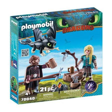 Playmobil Czkawka i Astrid , Jak wytresować smoka, 21 sztuk