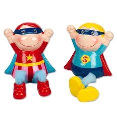 Trend Haus Spardose Superheld, Spardose Superheld