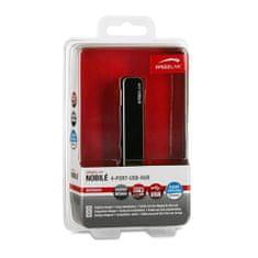 Speed Link SL-7415-SBK Nobil 4-Port-USB-Hub, SL-7415-SBK Nobil 4-Port-USB-Hub