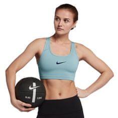 Nike SWOOSH BIUSTONOSZ, 10 | SZKOLENIA KOBIET | KOBIETY | BRA | OCEAN BLISS / BINARY BLUE | XS