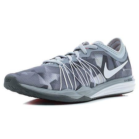 Nike KETTŐS FUSION TR HIT PRNT, 20. | NŐI KÉPZÉS | NŐK | LOW TOP | TISZT PLATINUM / FEHÉR-HŰTŐ SZÜRKE | 7.5