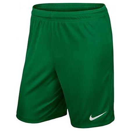 Nike II. PARK KÖNYVE RÖVID NB!, 10. | FABOTBALL / FOCCER | MENS | RÖVID | Fenyő ZÖLD / FEHÉR | M
