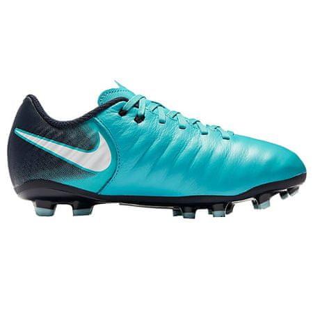 Nike JR TIEMPO LIGERA IV FG, 20.   FABOTBALL / FOCCER   GRD ISKOLA UNSX   LOW TOP   GAMMA KÉK / FEHÉR-OBSIDIAN-GLAC   5Y