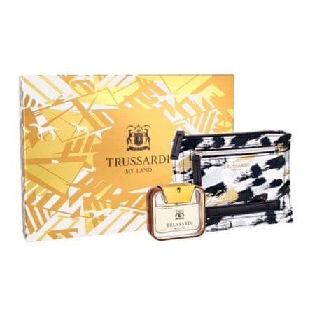 Trussardi ajándék szett, My Land, EDT 50 ml, pénztárca
