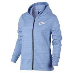 Nike W NSW AV15 JKT KNT, 10 | INNE SPORTY NSW | KOBIETY | KURTKA | ALUMINIUM / BIAŁY | M.