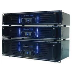 Skytec Wzmacniacz PA SKY-1500B, 2x 750 Watt czarny, Wzmacniacz PA SKY-1500B, 2x 750 Watt czarny