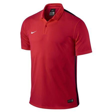 Nike SS YTH CHALLENGE JSY, 10.   FABOTBALL / FOCCER   YOUTH UNISEX RÖVID HÁLÓ FEL   EGYETEM VÖRÖS / FEKETE / JÁTÉKlabda XL
