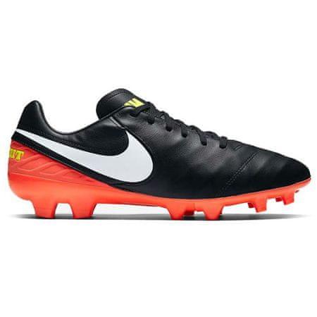 Nike TIEMPO MYSTIC V FG, 20 | FOOTBALL / SOCCER | MOŠKI | NIZKA VRH | ČRNI / BELI-HYPER ORANGE-VOLT | 8.5