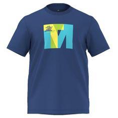 Adidas 4055344121436, OUTDOOR | T-shirt GRAFICZNY (KRÓTKI RĘKAW) | EQTBLU | 54