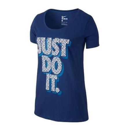 Nike TEE-BF LYNX JDI, 10 | INNE SPORTY NSW | KOBIETY | T-SHIRT Z KRÓTKIM RĘKAWEM | DEEP ROYAL BLUE / LT PHOTO BLUE | L.