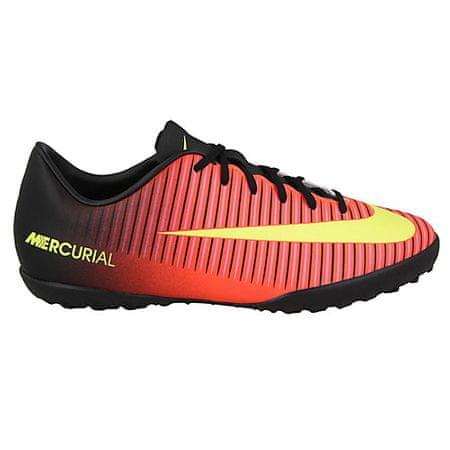 Nike JR MERCURIAL VAPOR XI TF, 20. | FABOTBALL / FOCCER | GRD ISKOLA UNSX | LOW TOP | Teljes bűncselekmény / VLT-BLK-PNK BLST | 2Y