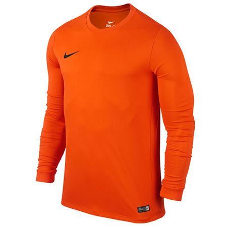 Nike LS PARK VI JSY, 10 | FOOTBALL / SOCCER | MOŠKI | DOLG SLEEVE TOP | VARNOSTNA ORANŽA / ČRNA | M