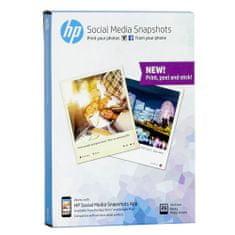 HP közösségi média pillanatképek, 25 lap, 10x13 cm, HP közösségi média pillanatképek, 25 lap, 10x13 cm