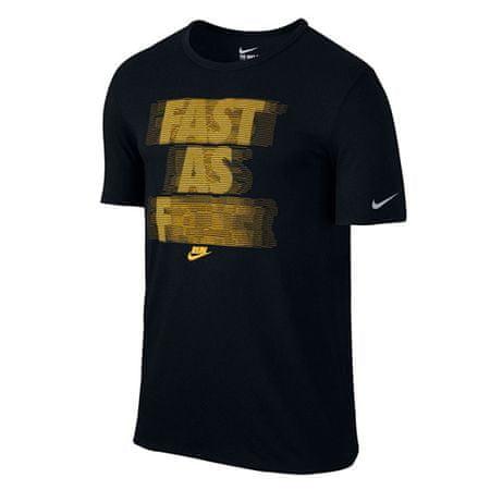 Nike FOGLALJON KÖZÖTT, MÉG, 10. | Futás | MENS | Rövid ujjú póló | FEKETE / VÁLTOZTATÁS HASZNÁLATA / VISSZAJELZŐ XL