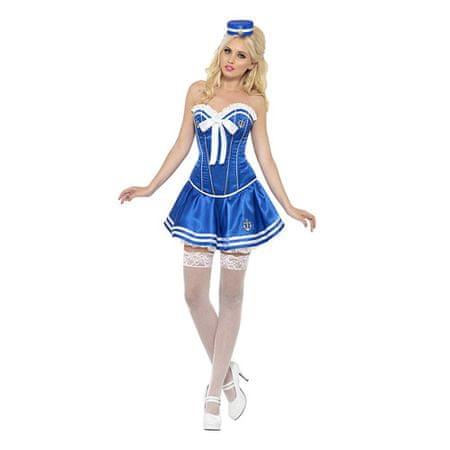 Smiffys Női jelmez, szexi tengerész - L 44-46 méret, Halloweeni jelmezek
