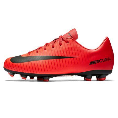 Nike JR MERCURIAL VICTORY VI FG, 20. | FABOTBALL / FOCCER | GRD ISKOLA UNSX | LOW TOP | EGYETEM VÖRÖS / FEKETE-FÉNYKÉPES CR 4.5Y