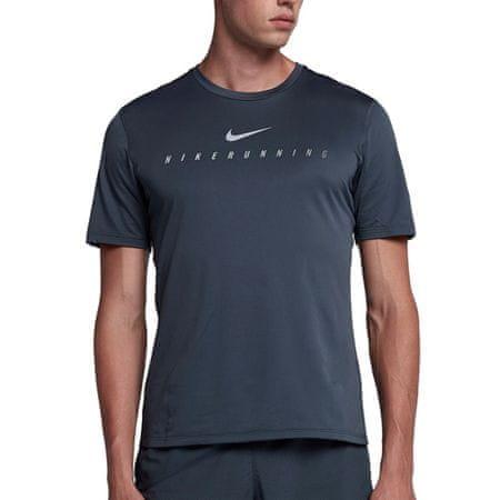 Nike M NK FLSH MLR TOP SS SNL GX, 10. | Futás | MENS | RÖVID HÁLÓ FEL | THUNDER BLUE | L