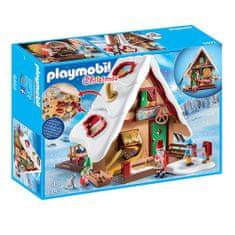 Playmobil Świąteczna piekarnia z formami do pieczenia , Boże Narodzenie, 128 sztuk