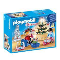 Playmobil Vianočná obývacia izba , Vianoce, 65 dielikov