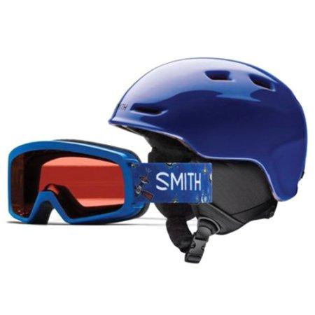 Smith ZOOM JR / RASCAL, | gyermekek sisak + védőszemüveg Kobalt | 4853