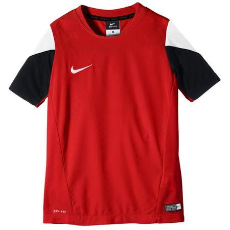 Nike SS YTH SQUAD14 TRNG TOP, 10. | FABOTBALL / FOCCER | Fiúk | RÖVID HÁLÓ FEL | EGYETEM Vörös / FEHÉR / FEKETE / WHI M