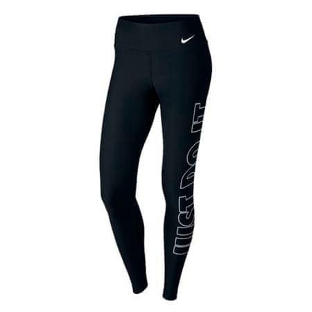 Nike W NK PWR TGHT POLY JDI GRX, 10 | SZKOLENIA KOBIET | KOBIETY | RAJSTOPY | CZARNY / BIAŁY | XL