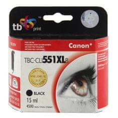 TB print Ink. kazeta TB kompat. s Canon CLI-551XL Black, Ink. kazeta TB kompat. s Canon CLI-551XL Black