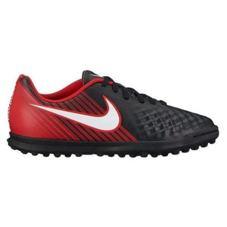 Nike JR MAGISTAX OLA II TF, 20. | FABOTBALL / FOCCER | GRD ISKOLA UNSX | LOW TOP | FEKETE / FEHÉR EGYETEM Vörös | 1.5Y