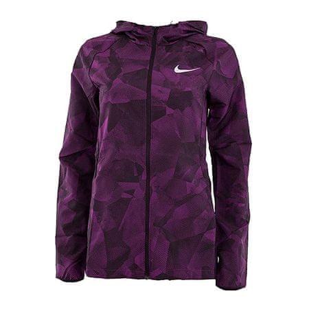 Nike W NK ESSNTL JKT HD PR, 10. | Futás | NŐK | Kapucnis dzseki | FÉNYEZETT BERRY / PORT BOR | XS